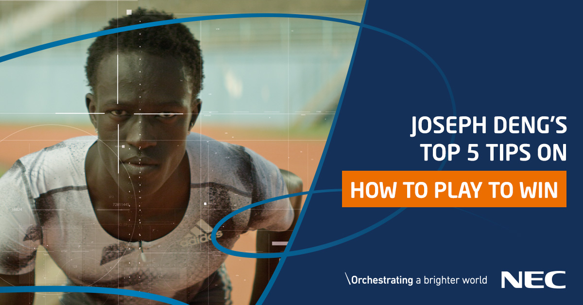 Joseph Deng's Top 5 Tips on how to play to win